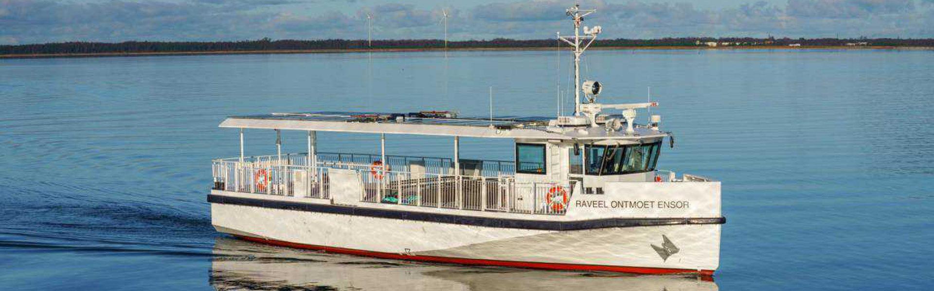 Elektrische boot Oosteroever